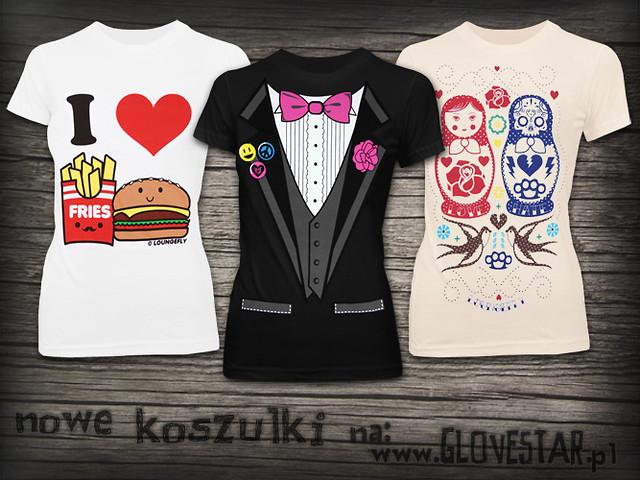 Koszulki z Glovestar! :D