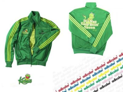 bluza Adidas kermit the frog  Adicolor