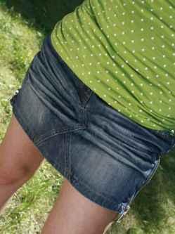 Spódniczka jeansowa(mini)