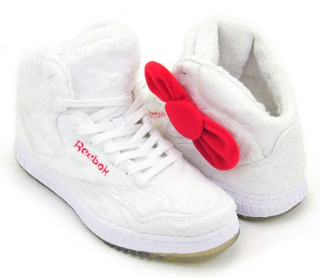 Buty REEBOK Hello Kitty z kokardką