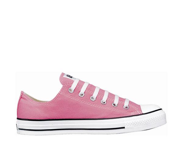 Converse różowe trampki