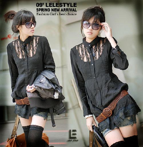 Tunika czarna Japan Style