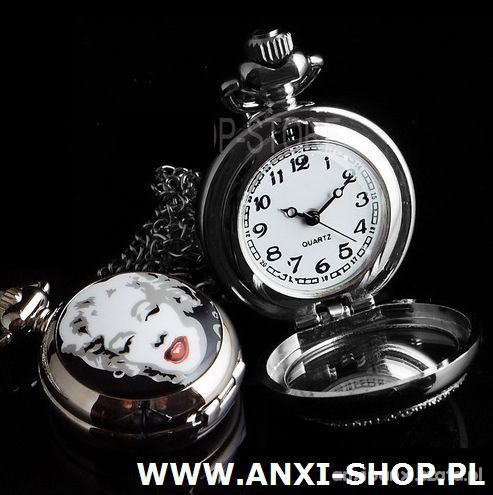 Naszyjnik zegarek