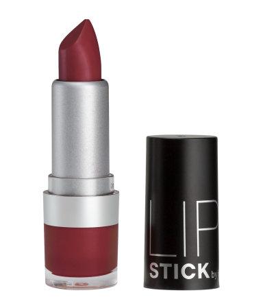 Czerwona/bordowa matowa szminka