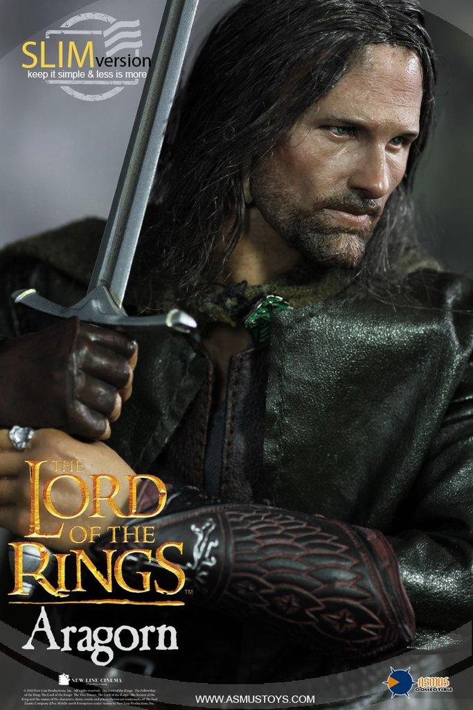 Figurka Aragorna