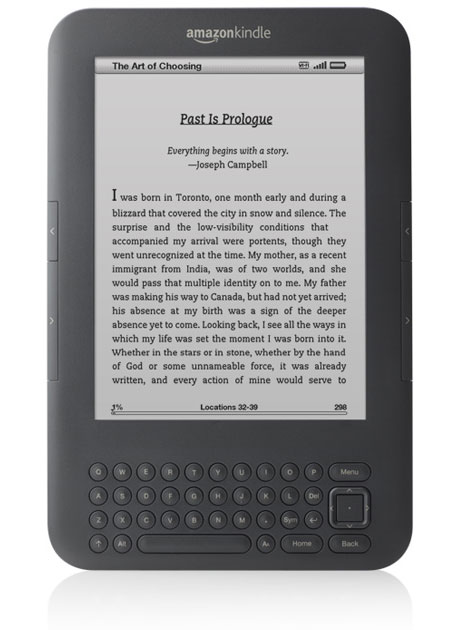 Amazon Kindle 3 Wi-Fi Graphite