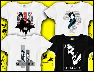 Koszulka Damska M Sherlock Holmes Serial Prezent