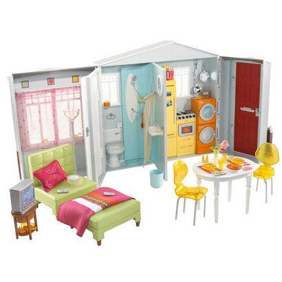 Prawdziwy domek Barbie