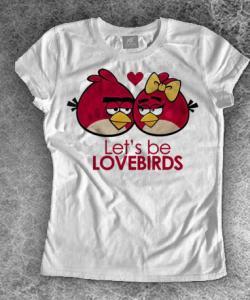 koszulka damska ANGRY BIRDS GRA RÓŻNE WZORY