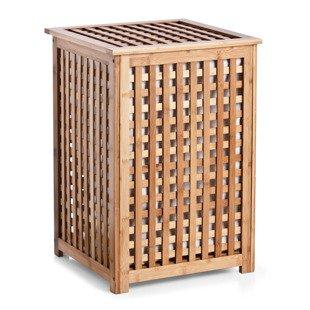 bambusowy kosz na pranie