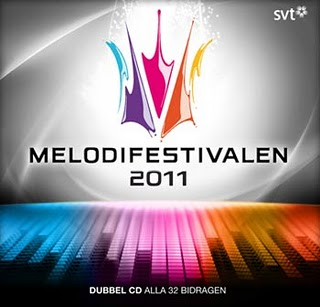 Melodiefestivalen 2011 CD