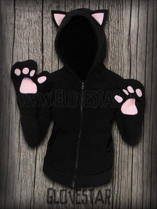 Bluza kotek z łapkami