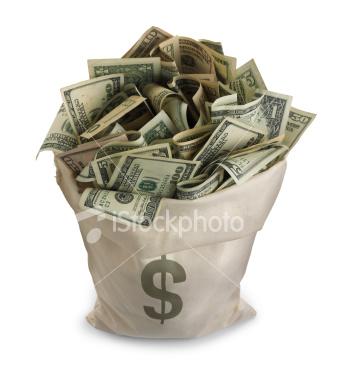 Dostać worek pieniędzy !! ;dd