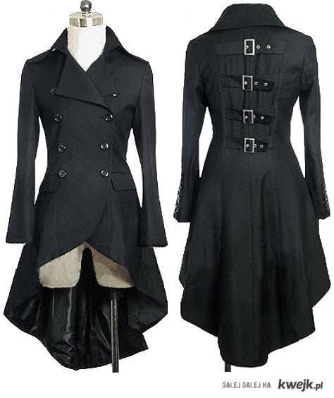 Płaszcz steampunkowy
