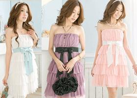 0G1052  Japan Style Sukienka Zmysłowa Sukienki 3k