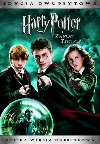 Harry Potter i Zakon Feniksa DVD