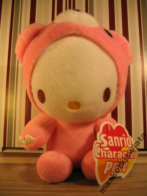 Hello kitty w stroju Gloomiego :3