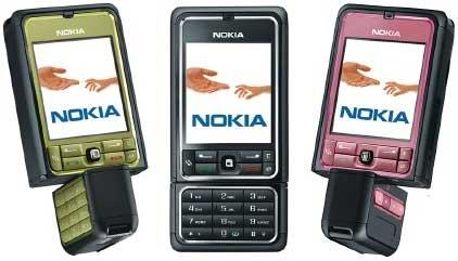 Nokia 3250 - Komórka Rihanny