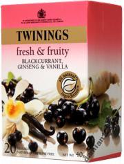 Herbata jagodowo-waniliowa