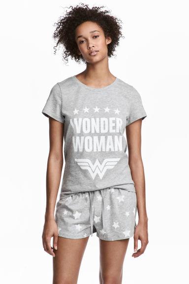 Pidżama Wonder Woman