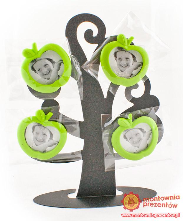 Drzewko na zdjęcia- zielone jabłuszka