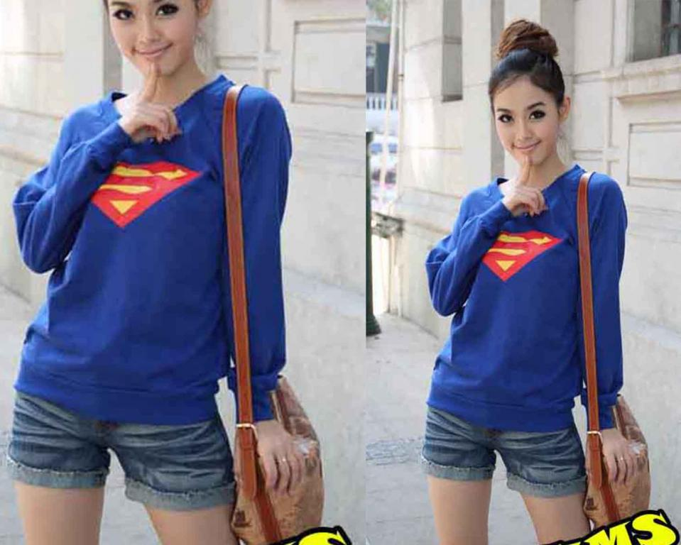 Bluza super men japan style:)