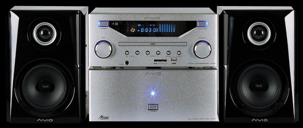 WIEŻA STEREO Aivio LS500 CD MPEG4 MP3 JPEG WROCLA