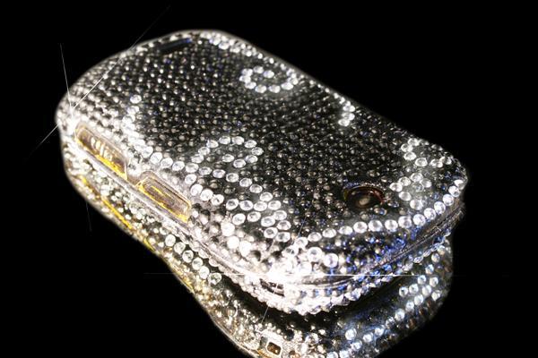 Super wymienna obudowa do telefonu z diamentami