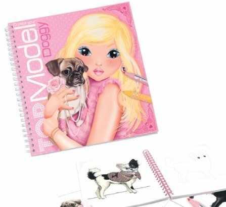 Top model-kolorowanka doggy