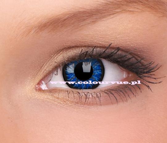 Kolorowe Soczewki Kontaktowe - Blue Star