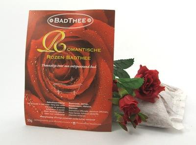 Herbatka do kąpieli o romantycznym różanym aromacie