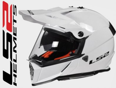 KASK LS2 MX436 PIONEER SOLID WHITE L