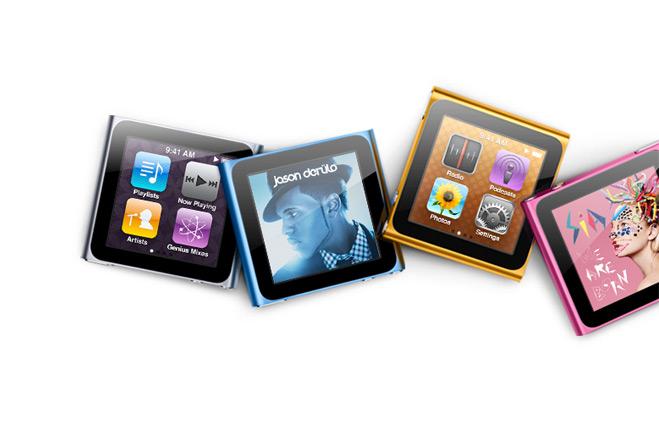 ipod nano 6G 8GB multi-touch