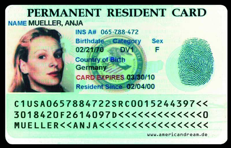 Green Card (Zielona Karta, obywatelstwo USA)