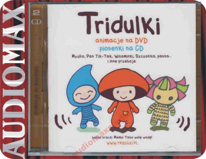 Muzyka dla Dzieci - TRIDULKI [CD+DVD]
