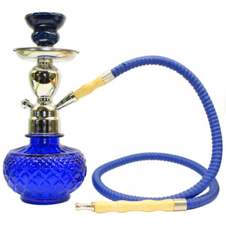 Shisha 25 cm niebieska