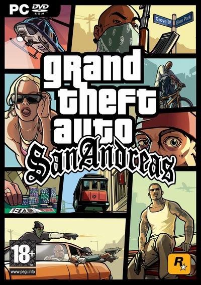 Gra GTA San Andreas PL