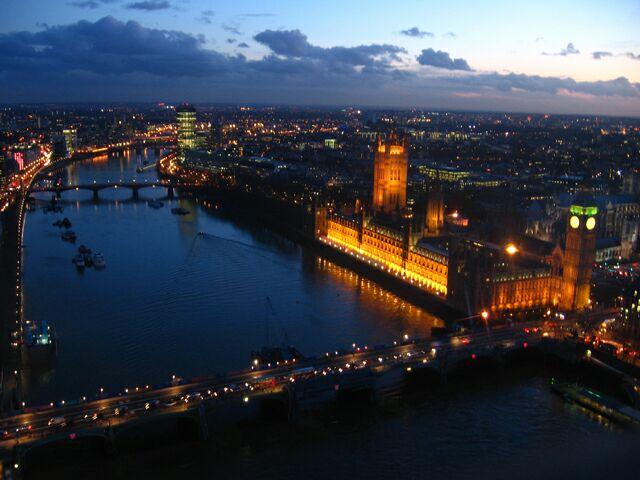 Podróż do Londynu