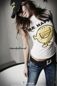 *Japan Fashion* T-shirt Mr. Happy