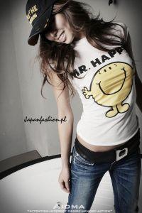 *Japan Fashion* T-shirt Mr. Happy