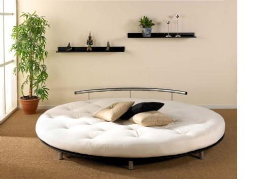 Okrągłe łóżko ;))