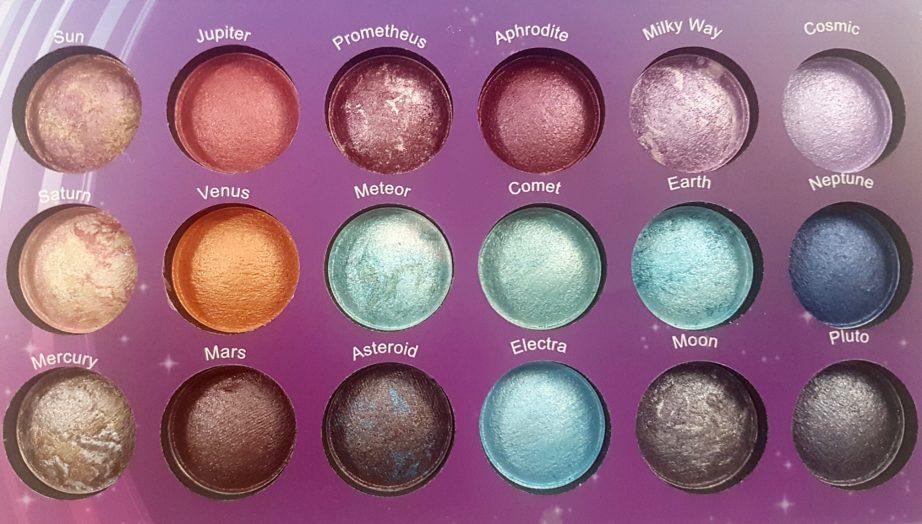 BH Cosmetics paleta Galaxy Chic