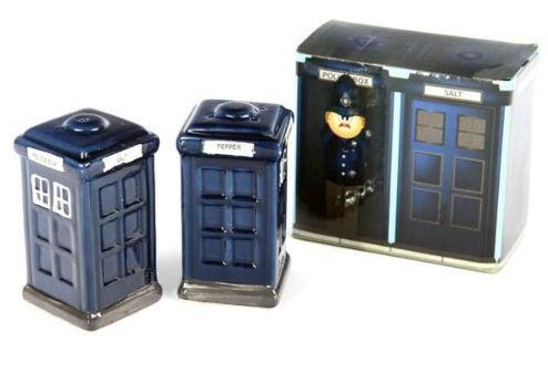 Solniczka i pieprzniczka - TARDIS