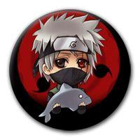 Naruto: Kakashi Black przypinka