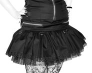 Spódniczka goth lolita