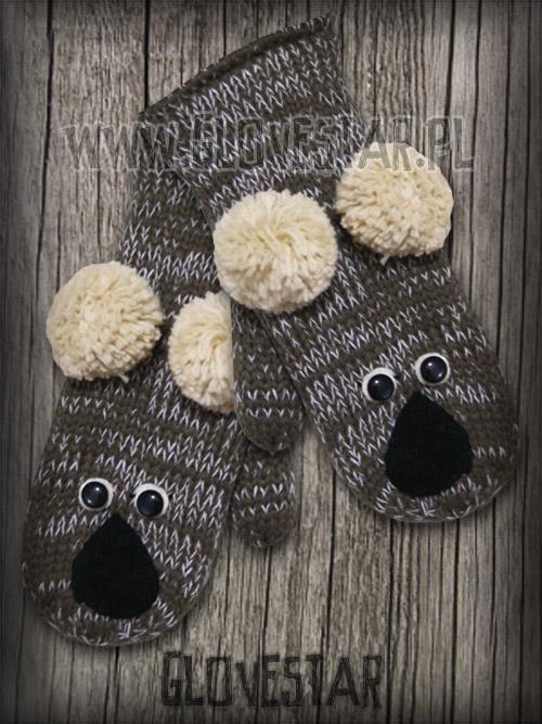 Rękawiczki Misie Koala GLOVESTAR