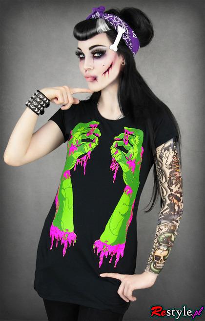 T-shirt Zombie Hands