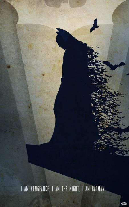 Blacha PosterPlate BATMAN