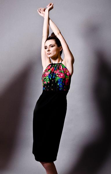 Sukienka FOLK numer 2 :)