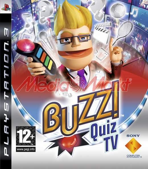 Gra SONY Buzz! Quiz TV + 4 buzzery bezprzewodowe
